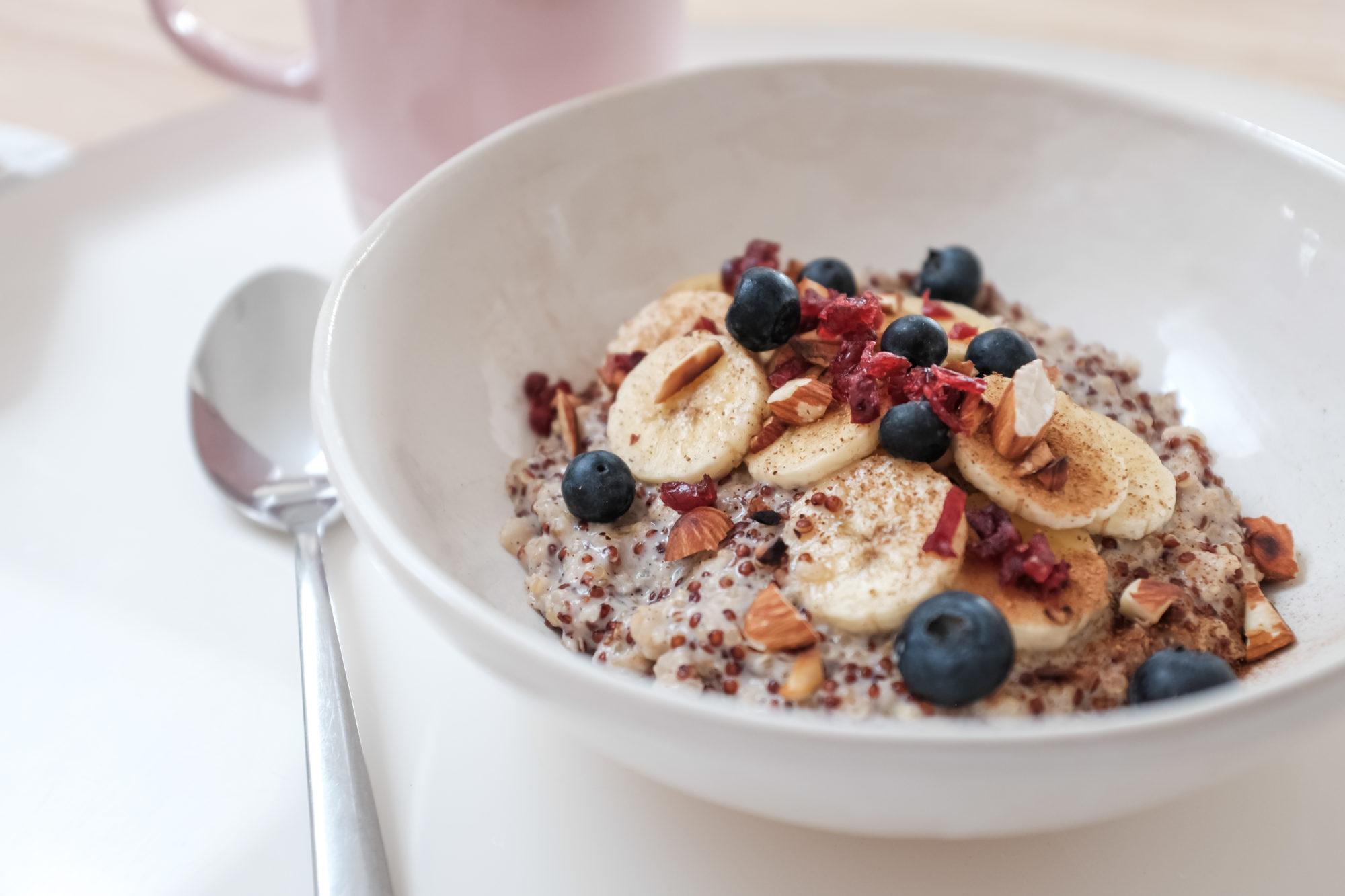 how to cook quinoa porridge in microwave